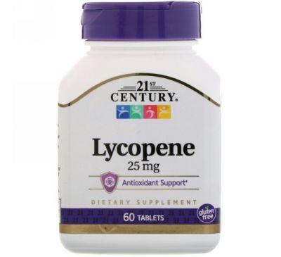 21st Century, Ликопин, 25 мг, 60 таблеток