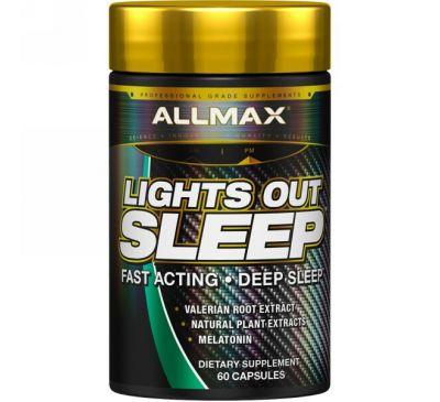 ALLMAX Nutrition, Гасите свет и спите, 60 капсул