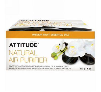 ATTITUDE, Натуральный освежитель воздуха, маракуйя, 8 унций (227 г)