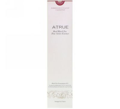 ATrue, Real Black Tea True Active Essence, 180 ml