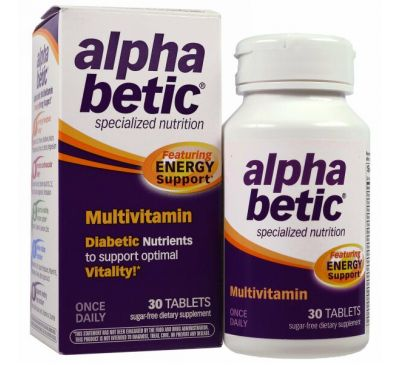Abkit, Мультивитамины «Альфа Бетик», 30 таблеток