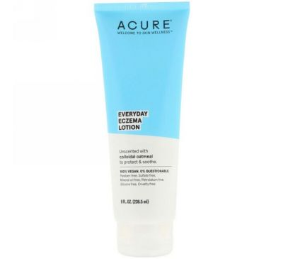 Acure, Ежедневный лосьон от экземы, 8 жидких унций (236,5 мл)