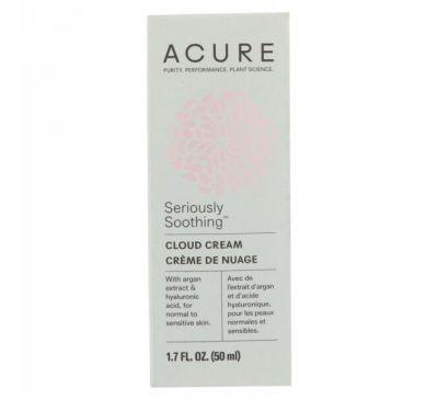 Acure, Сильно успокаивающий облакообразный крем, 50 мл