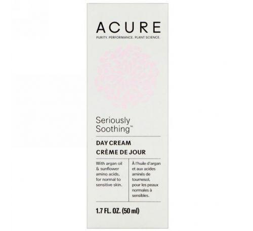 Acure, Успокаивающий дневной крем, 50 мл (1,7 ж.унц.)