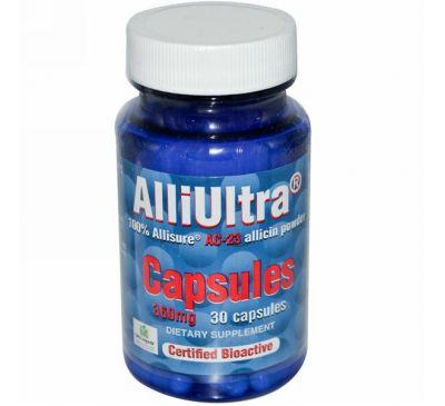 Allimax, Аллицин AlliUltra в капсулах 30 капсул