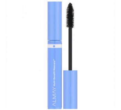 Almay, Multi Benefit Waterproof Mascara, 504, Black, 0.24 fl oz (7 ml)