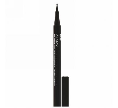 Almay, On the Ball, Pen Eyeliner, 208 Black, 0.056 oz (1.6 g)