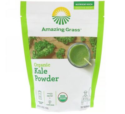 Amazing Grass, Organic Kale Powder, 5.29oz (150g)