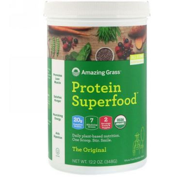 Amazing Grass, Protein Superfood, The Original, 12.2 oz (348 g)