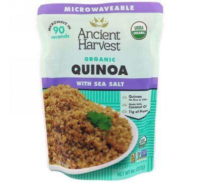 Ancient Harvest, Органический продукт, Киноа с морской солью, 8 унц. (227 г)