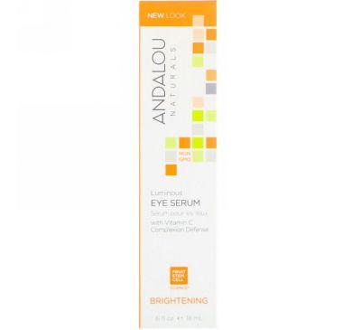 Andalou Naturals, Luminous Eye Serum, .6 fl oz (18 ml)
