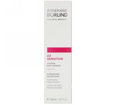 AnneMarie Borlind, ZZ Sensitive, Укрепляющий ночной крем, 1,69 ж. унц.(50 мл)