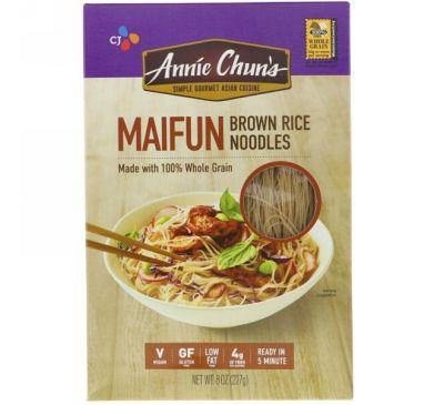 Annie Chun's, Maifun, Лапша из коричневого риса, 8 унций (227 г)