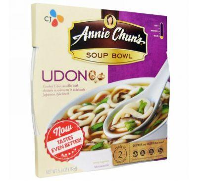 Annie Chun's, Тарелка супа, удон, мягкий, 5,9 унции (169 г)