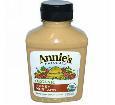Annie's Naturals, Органическая, медовая горчица, 9 унций (255 г)