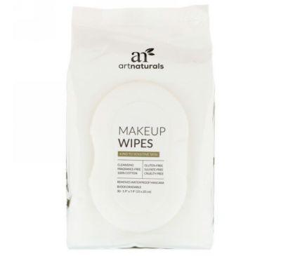 Artnaturals, Салфетки для снятия макияжа, 30 салфеток