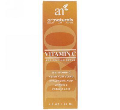 Artnaturals, Витамин C, Антивозрастная сыворотка, 1 ж. унц.(30 мл)