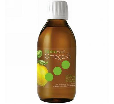 Ascenta, Nutra Sea, омега-3, со вкусом лимона, 6,8 жидкой унции (200 мл)