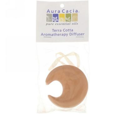 Aura Cacia, Ароматерапевтический диффузор Terra Cotta, луна