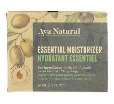 Aya Natural, Базовое увлажняющее средство, 1,7 ж. унц.(50 мл)
