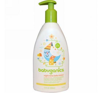 BabyGanics, Вечерний лосьон для малышей, Цветущий апельсин, 12 унций (354 мл)