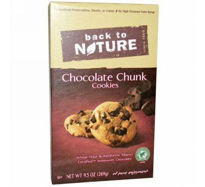 Back to Nature, Печенье с шоколадной крошкой, 9,5 унций (269 г)