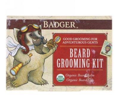 Badger Company, Комплект для ухода за бородой, Комплект 2 из предметов