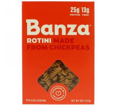 Banza, Спиральки из нута, 8 унц. (227 г)