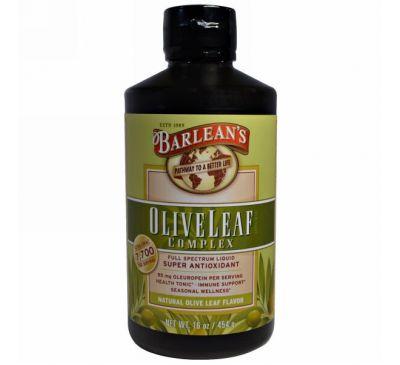 Barlean's, Комплекс оливковых листьев, природный ароматизатор, 16 унций (454 г)