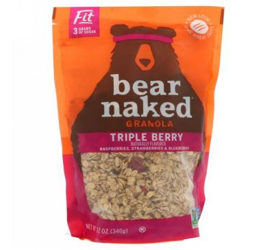 Bear Naked, Fit, Granola, Triple Berry, 12 oz (340 g)