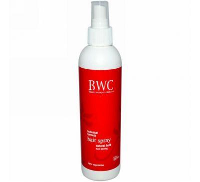 Beauty Without Cruelty, Спрей для волос, естественная фиксация, 250 мл
