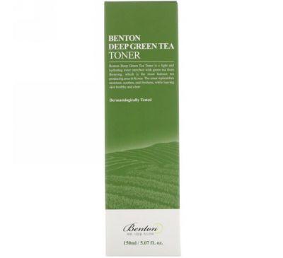 Benton, Глубокий тоник с зеленым чаем, 5,07 жидк.унц. (150 мл)