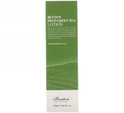 Benton, Насыщенный лосьон из зеленого чая, 4,05 жидкой унции (120 мл)