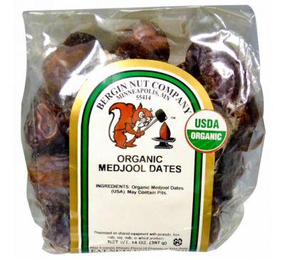 Bergin Fruit and Nut Company, Органические финики меджул, 14 унций (397 г)