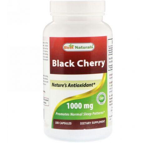 Best Naturals, Black Cherry, 1000 mg, 180 Capsules