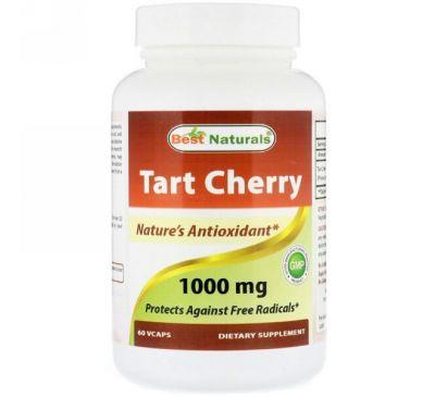 Best Naturals, Tart Cherry, 1000 mg , 60 VCaps