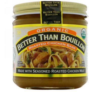Better Than Bouillon, Органическая основа для приготовления бульона с жареной курицы, 8 унц. (227 г)