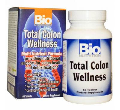 Bio Nutrition, Совершенное здоровье кишечника, 60 таблеток