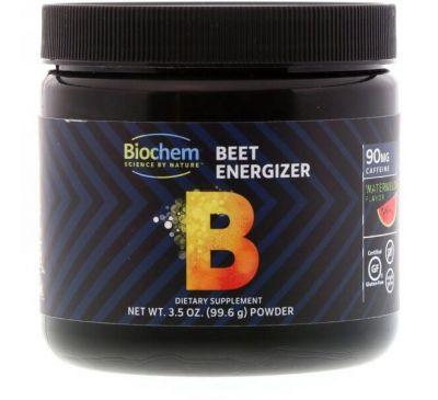Biochem, Beet Energizer, со вкусом арбуза, 3,5 унц. (99,6 г)