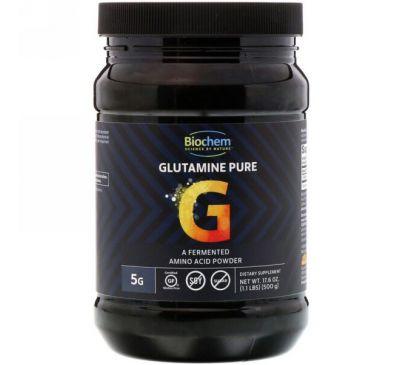 Biochem, Чистый глутамин, 17,6 унц. (500 г)