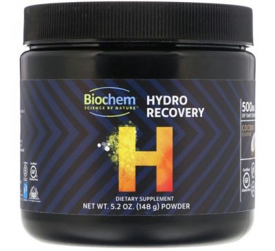 Biochem, Гидро-восстановление, Вкус кокоса, 5,2 унц. (148 г)