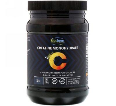 Biochem, Моногидрат креатина, 17,6 унц. (500 г)