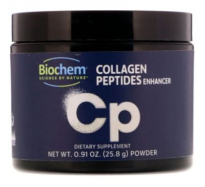 Biochem, Усилитель пептидов коллагена, 0,91 унц. (25,8 г)