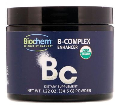 Biochem, Усилитель витаминов группы B, 1,22 унц. (34,5 г)