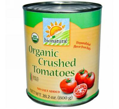 Bionaturae, Органические протертые томаты, без добавления соли, 28,2 унции (800 г)