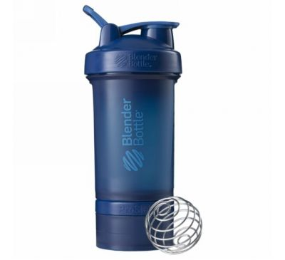 Blender Bottle, BlenderBottle, ProStak, синий, 22 унции