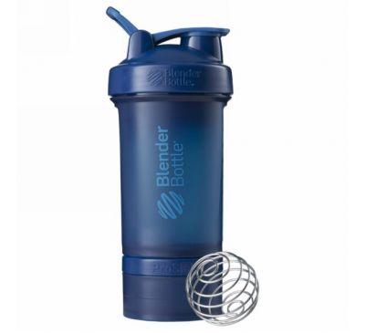 Blender Bottle, BlenderBottle, ProStak, синий, 22 унции