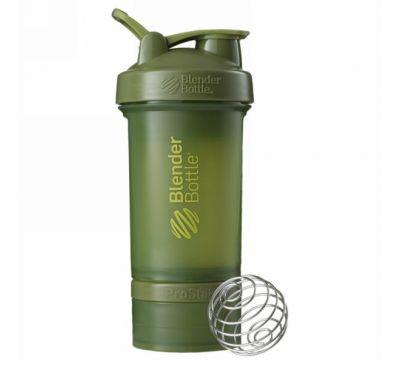 Blender Bottle, BlenderBottle, ProStak, темно-зеленый цвет, 22 унции (660 мл)