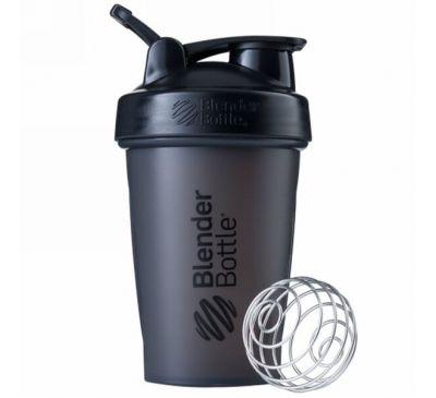 Blender Bottle, BlenderBottle, классическая с петлей, черная, 20 унций (600 мл)