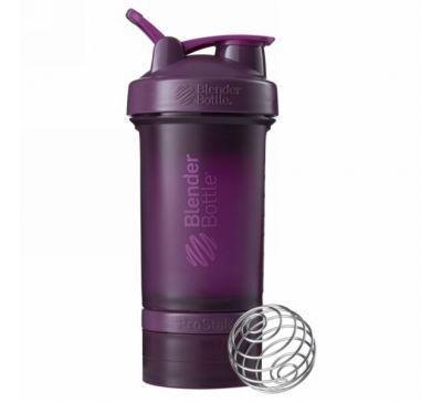 Blender Bottle, Бутылка-блендер BlenderBottle, ProStak, сливовая, 22 унции